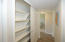 HALL STORAGE WITH CUSTOM SHELVING