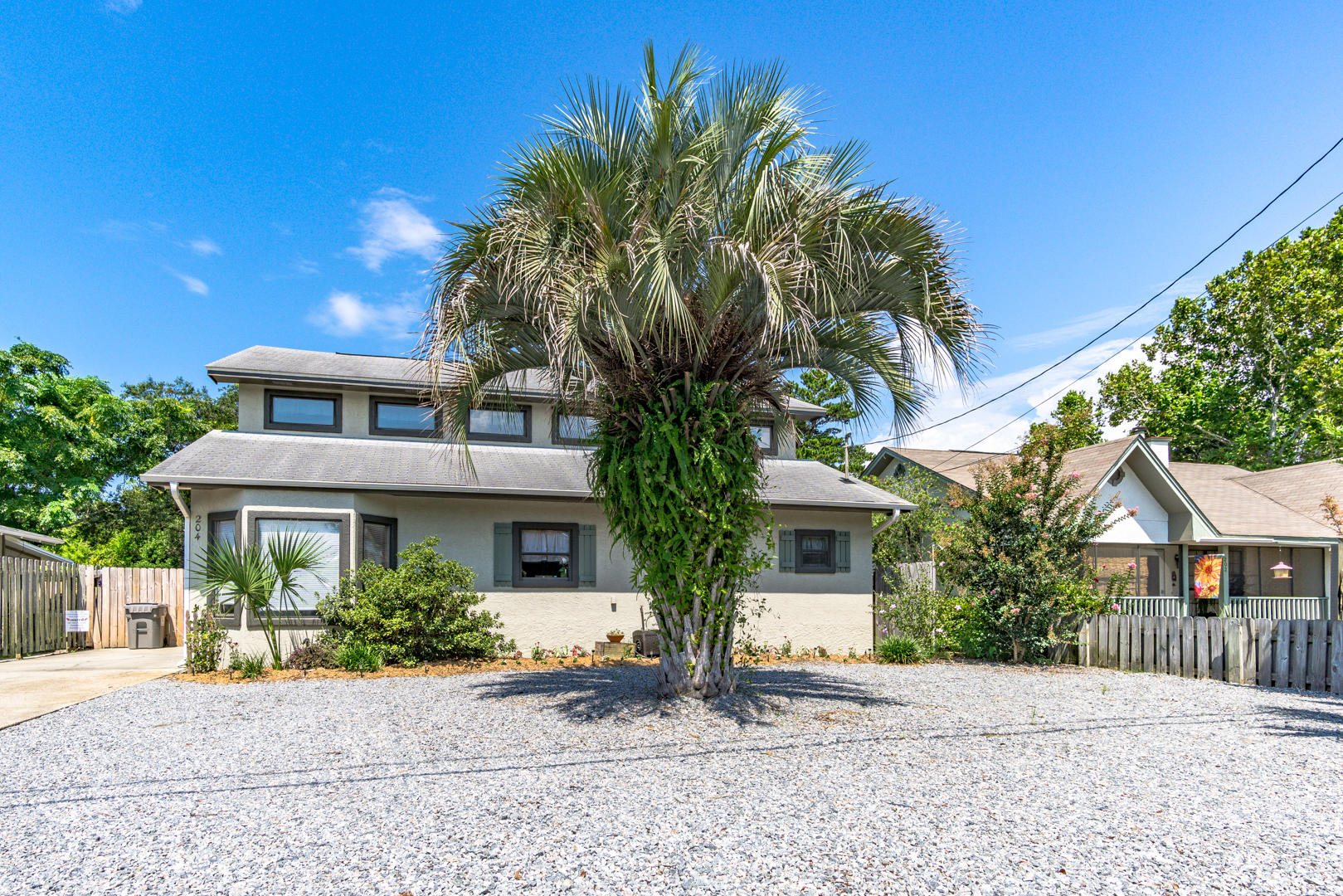 West end Panama City Beach is the ideal location and here is your chance to buy a 3 bedroom 3 bath home just 1816 feet to the beach at walkover #76A! This is a healthy walk or very short golf cart ride to the beach! This home has been very well maintained and has geo-thermal heating which makes it very economical to heat the home in winter. A new metal roof was just installed February 2019! The private level backyard has plenty of room for a pool. The deck was added in May 2015, new flooring added in 2016. Priced to sell - please call your Realtor for an appointment today! Realtor believes all information is accurate but is not guaranteed. If important to buyer please verify.
