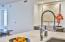 Large Kitchen Island - Quartz Countertops