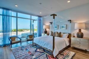 Gulf Front Master Bedroom - Residence 105 Model
