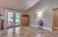 French doors in separate family room