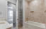 Bathroom to accommodate the secondary bedrooms.