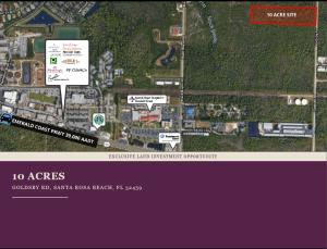 Lot 7 Goldsby Road, Santa Rosa Beach, FL 32459