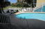 Easy access to pool deck