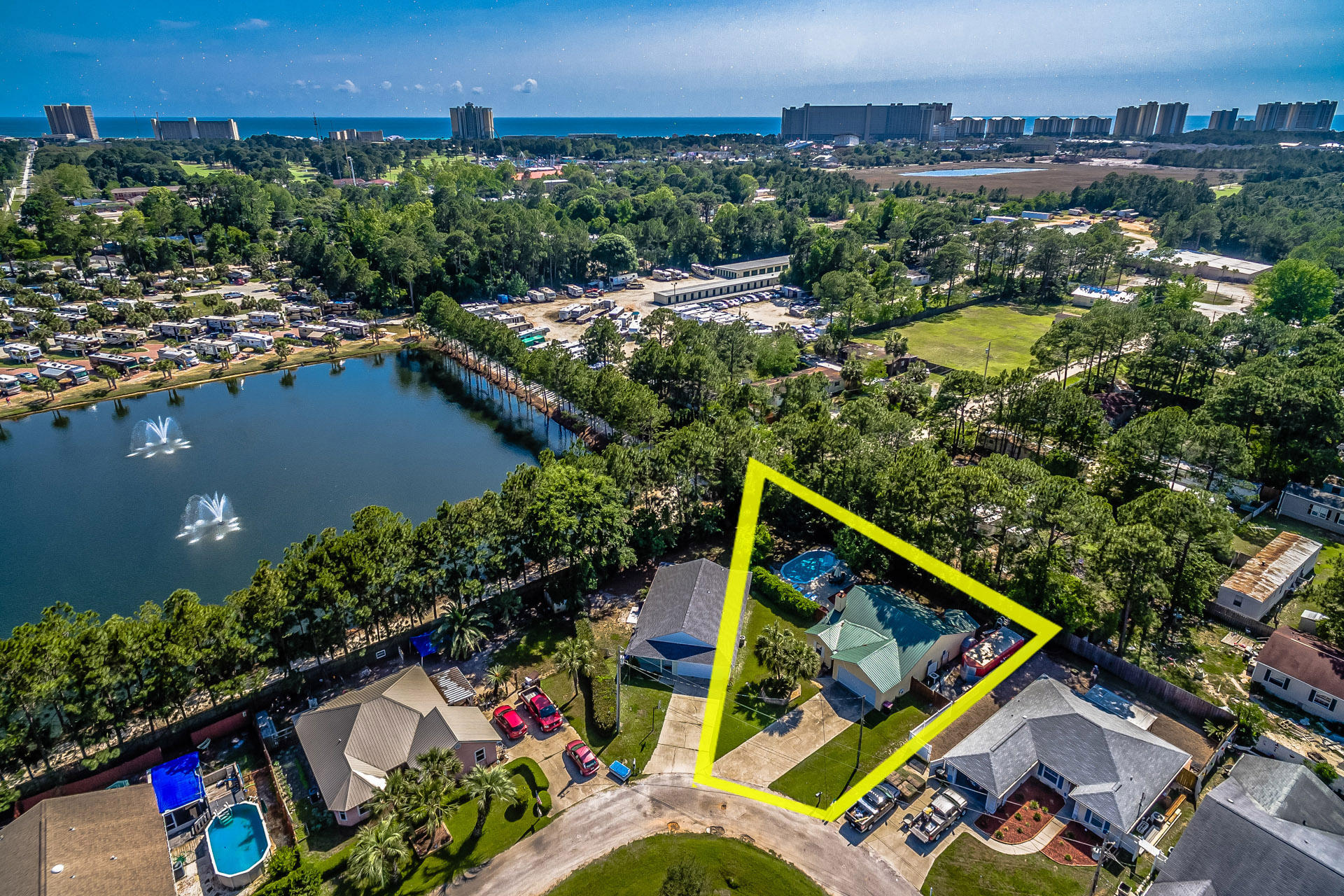 Welcome to 9217 Faith Lane in Panama City Beach, Florida!  A true rental magnate that has consistently performed and in 2017 put out a whopping $54k+ in gross rental revenue!!  The current owners have set this up as a rental powerhouse adding all of the clutch amenities necessary to keep guests coming consistently and repeatedly.  The home is located on one of the largest lots in the community and the location off of Allison Ave allows for convenient beach access as well as close proximity to area attractions along Front Beach Road & Thomas Drive.  This home is being offered individually as well as being offered within a package deal of 10 homes that produced $478,000 in gross revenue.  This is not a home to overlook in today's market so come get a glimpse while you can.  P&L available!