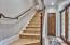 Access to upstairs bedroom retreat