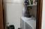 Inside laundry room