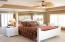Master bedroom (also has a view of ocean and door to balcony)
