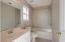 Master Bathroom with CUSTOM tile bath/shower