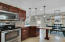 Large Kitchen with all Stainless Steel Appliances