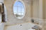 Master Bathroom - over-sized soaking tub.
