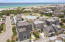 Aerial of 425 Coopersmith. Forever views of the beautiful beach.