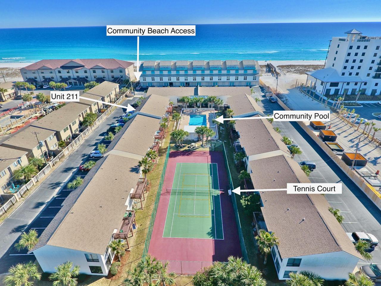 Overview Beachview Condos