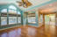 Hardwood flooring and recessed lighting