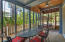 Wrap around screened in porch