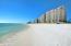 Miles of pristine white sand beaches.