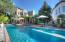 Far side of pool