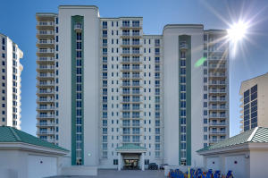 This first floor Silver Sands Penthouse is perfect for anyone who wants the feel of living In a gulf front home with the amenities of Condominium living! You don't have to deal with the maintenance of a single family home. Updated with Travertine flooring in the entry, living, dining, kitchen and laundry room. Carpet with memory foam padding in the bedrooms. The Master bedroom and ensuite is gulf front and has great views with sliding glass door with access to the gated patio. A must see to appreciate all the fine details! Call for availability today!