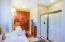 Separate Shower, Jetted Soaker Tub, linen cabinet and MORE!