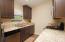 Custom Cabinets, Under Mount Sink, Window overlooking back yard!