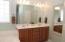 Double vanity in Master #1 bathroom