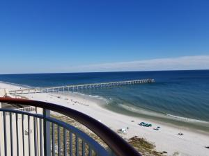 View from the Balcony looking East to the Pier