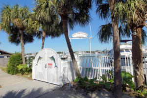 Located on the Destin Harbor
