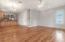 Lots of indoor entertaining space!