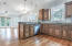 Open concept for living, dining and kitchen!