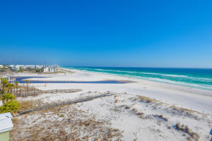 This Gulf front condo is located on a most desirable, secluded stretch of beach along 30A with gorgeous, sweeping views of the Gulf and one of the areas most popular Coastal Dune lakes...Eastern Lake. From its shores you can enjoy fishing, paddle boarding, swimming and more.