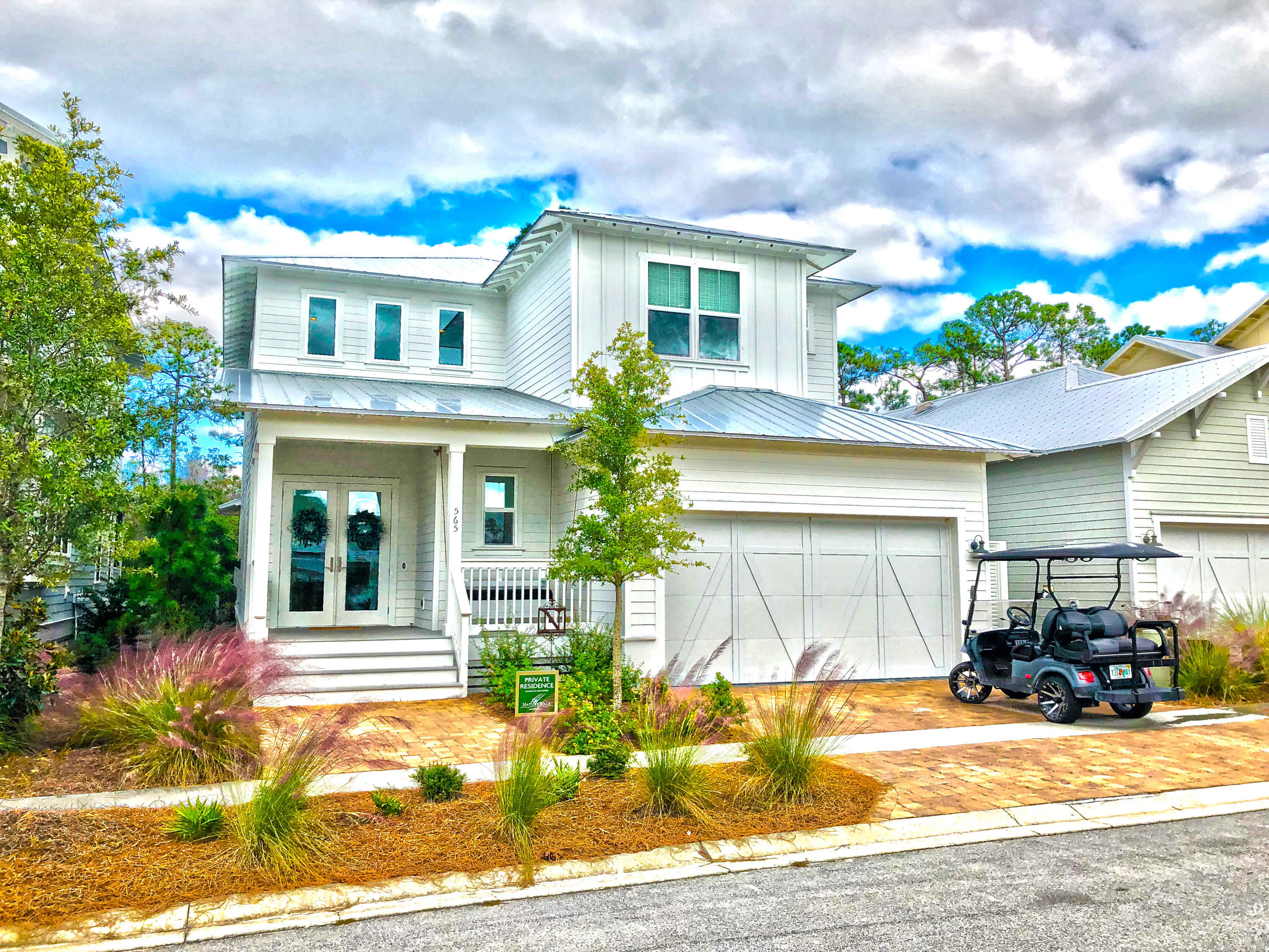 JUST IN TIME FOR PEAK!! NEW PRICE for THIS 2018 Newly-Built NatureWalk @ Seagrove LUXURY 6-Bedroom, 5 Bath, 2-Car Garage on a Premium Lot with loads of Custom Upgrades in Phase 2!  It's Back on the Market due to a Buyer Finance issue, which gives you the RARE OP to get this gem at a NEW PRICE & now unfurnished. *The Fully Furnished TURNKEY option is being offered by Seller for any interested buyer for a separate bill of sale between parties.  The List Agent is happy to provide those details.  This home is perfect as a Primary Residence, Investment Property with $75K+ Gross Rental Projections, or 2nd Home offering plenty space for all your family and friends with over 3300 Interior Living space and additional Outdoor Living porches front & back. Enjoy the Water Views from the front & Forest views from the back.  Within Walking or a quick bike ride to 'The Gathering Place' amenities area, to the beach, Publix, Shops or enjoy the Seasonal shuttle to nearby Seaside, Watercolor & the Beach. Home is located in Phase 2 right across from beautiful views of the pond which hosts a fountain.  A Professional Pool Design was paid for by current owner and is included in the Agent Documents Section for buyers to see what is possible. NatureWalk at Seagrove is the 30A lifestyle that dreams are made of.  It is nestled in and surrounded by Point Washington State Forest, and is a walking and active-life front-porch community with State-of-the-Art Amenities.  It includes a zero-entry/beach-style pool, lap pool, a heated pool and a shaded kiddie pool, along with a Children's Play Ground, Grilling area, Bar & lounging area, Fire Pit, Hammocks, Basketball/ Pickleball court and Life-Fit Stations on the Trails, as well as a Private Trail, from within the community, directly to the beach!   Currently, it is on a Vacation Rental Program (Rental Projections are attached in Documents Section).   Here is the Vacation Rental Link: https://www.vrbo.com/1504009  *All listing information deemed correct, but buyers are responsible to verify all details as desired.