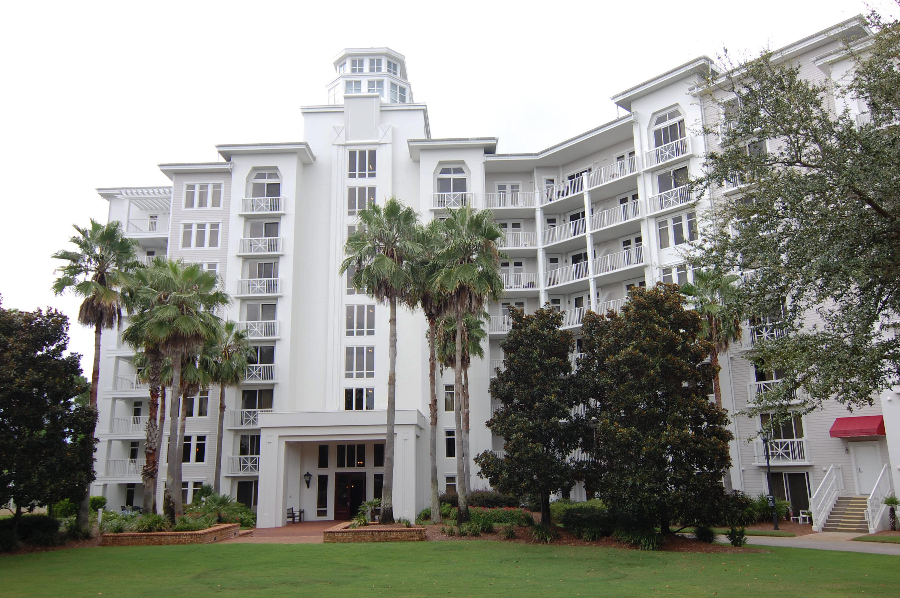 Fabulous one bedroom condo in Elation, the newest building in Baytowne Village.  Although never been rented, it is rental ready.  This quieter area of the Village has access to the fitness center, resort style pool and the private Solstice Club for beautiful sunsets.    This residence has views of the Bay and the Burnt Pine golf course.  The building also has underground parking and storage locker for your beach gear.  Granite counter tops, close to elevator and on the 3rd floor.  Very Clean. This is one to see. Buyer to verify all dimensions and fees.