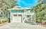 one car garage to hold all the beach gear and carport on oversized corner lot