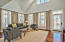 Spacious two story carriage living area