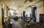 Fitness Room in Owner's Lounge Area