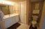 Bath area with extra closet