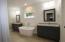 Master tub and vanity area
