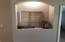 Lighted accent niche in entry