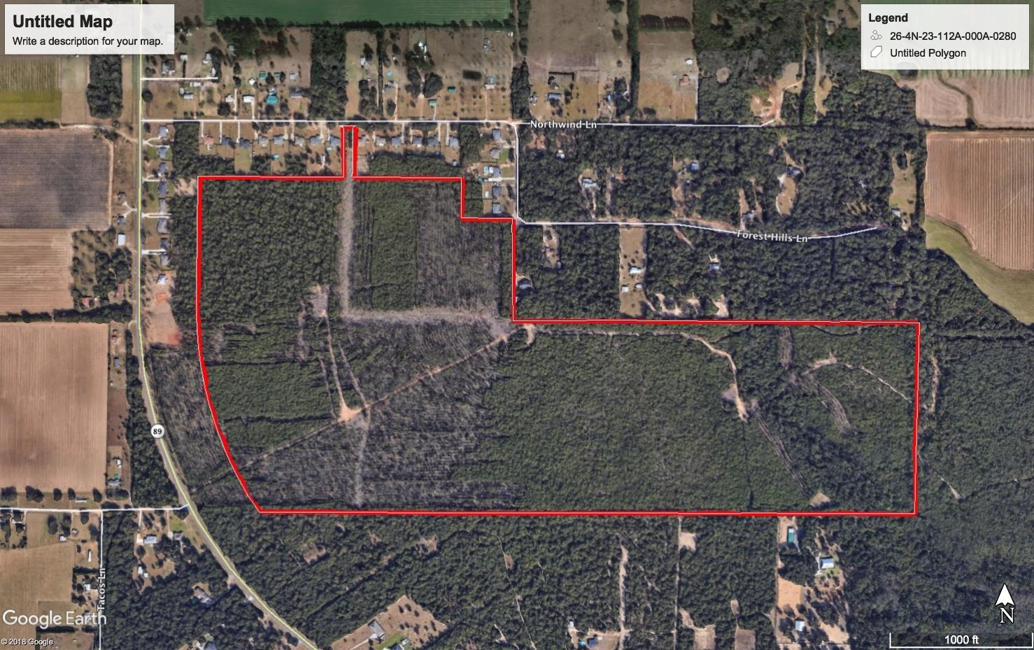 Lot 13 Forest Hills Drive, Milton, FL 32570