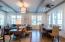 10' ceilings, oak hardwood floors throughout
