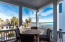 Top floor porch is arguably the best spot in this superbly designed house!