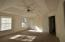 Master Bedroom with treyed ceilings