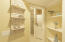 Bathroom hall and laundry area