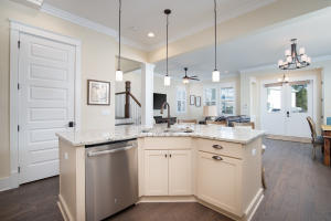 Upgraded Kitchen with center granite island