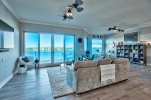 This stunning 3-bedroom, 3-bath unit offers amazing views of the Destin Harbor, comes fully furnished and includes a garage, storage unit and boat slip!