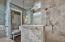 Large master bath shower.