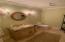 Hall powder room bath