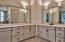 Master Bath W/ Walk-In Shower, Jetted Tub, Dual Vanity, Private Water Closet / Additional Bath - Tumbled marble floors, Intricate mosaic marble showers, Hand rubbed antique custom finished cabinetry, All plumbing by Fleur de Lis,