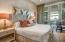 Master Suite, 1st Level w/ private bath, accompanying office/media room