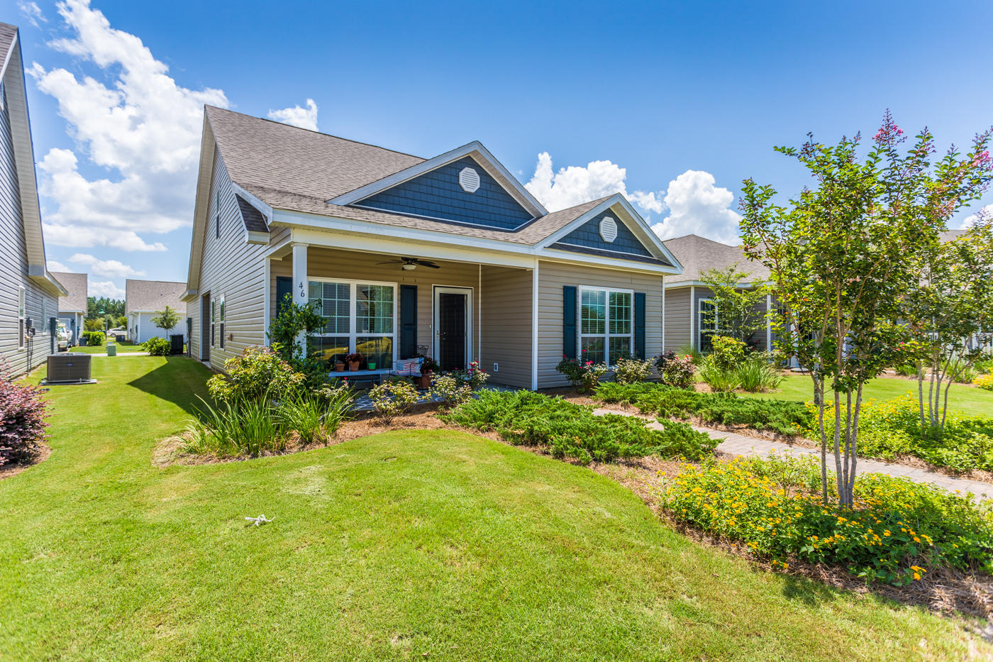 This 4 bedroom, 3 full bath home is two years young and is a great location within the Schooner Landing neighborhood of Hammock Bay. This is one of the larger lots in Schooner. this community is full of amazing amenities you can walk to! The clubhouse and pools, tennis and basketball courts, walking/jogging trails, and you are one block away from the newest park in the Schooner area. This home is well cared for with a Master Suite and Guest Bedroom with Hall Bath on the 1st floor and two additional bedrooms and bath upstairs. With just over 2,000 sq. ft. you have plenty of room to entertain. You will love the island kitchen and big walk-in pantry.